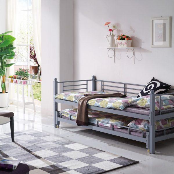 קומפורט ישרים -מיטת צימר דגם ערבה מתאימה גם עבור מיטה כפולה
